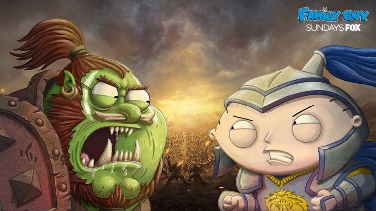 Family Guy'ın bu haftaki bölümü Warcraft evreninde geçecek