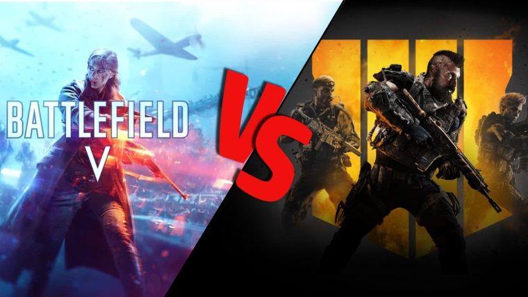 Battlefield 5 vs Black Ops 4