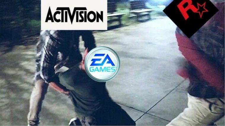 EA Games, BF5 için Rockstar Games ve Activision'dan korktu mu?