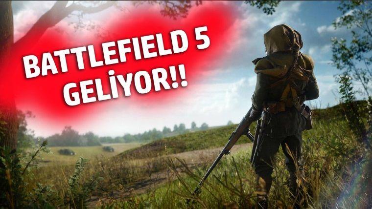 Battlefield 5 geliyor! Hem de 2. Dünya Savaşı temalı olacak!