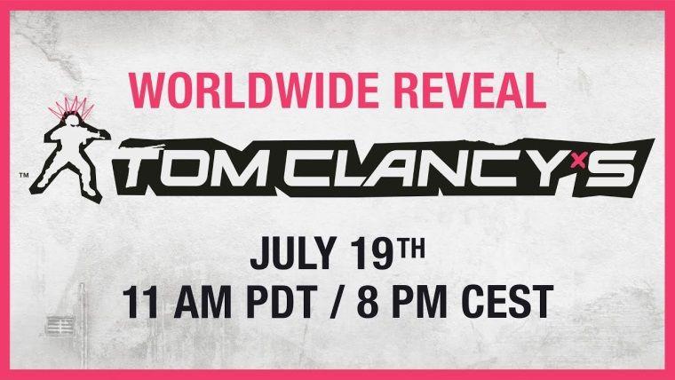 Ubisoft yeni Tom Clancy oyununu bugün duyuracak