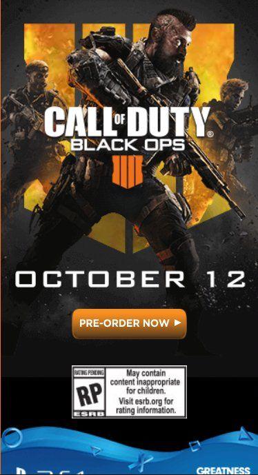 Black Ops 4'ün karakterlerinin yer aldığı görsel sızdırıldı
