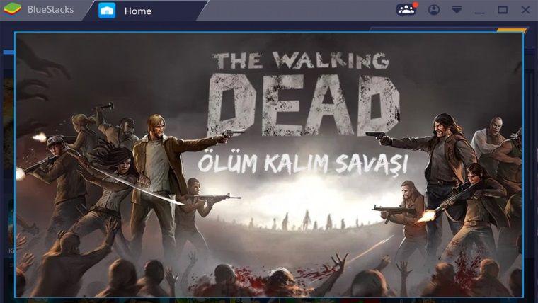 Bluestacks üzerinden Walking Dead: Ölüm Kalım Savaşı oynadık