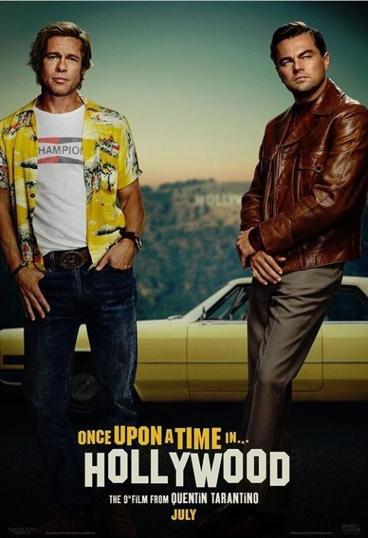 Brad Pitt ve DiCaprio'lu Tarantino filminden yeni poster