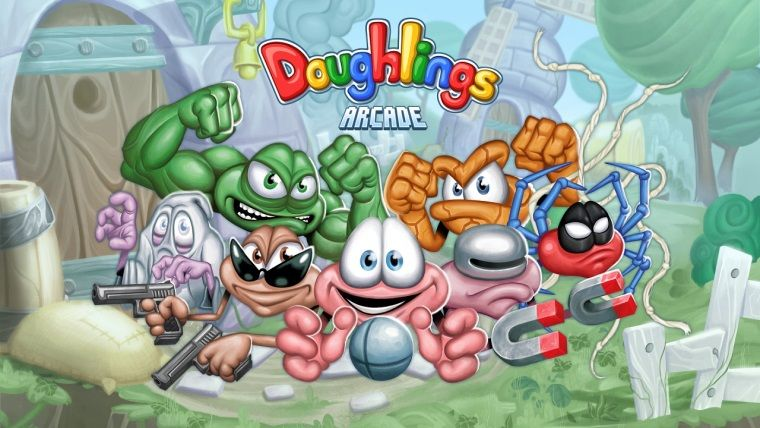 Türk oyunu Doughlings: Arcade, 9 Mayıs'ta Steam'de çıkıyor
