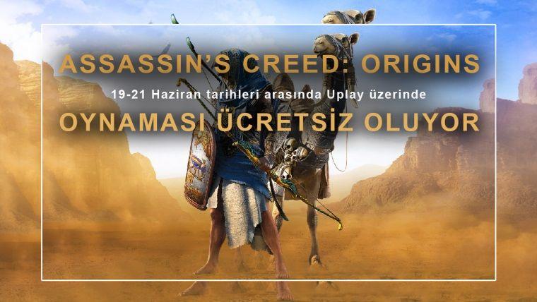 Assassin's Creed: Origins bu hafta sonu ücretsiz oluyor