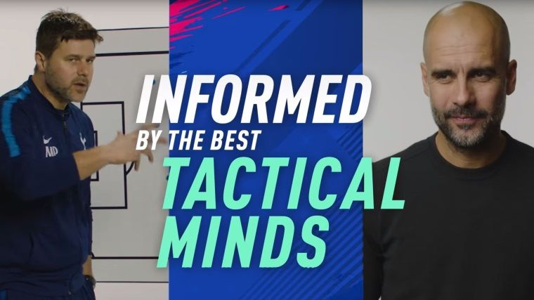 Pep Guardiola'dan Fifa 19 oyuncularına futbol taktikleri