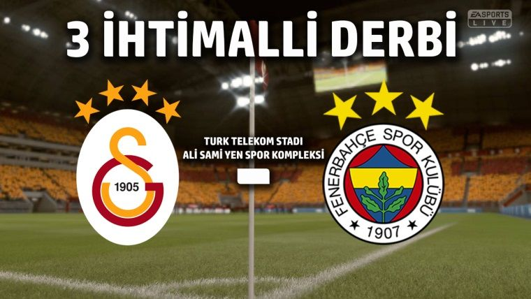 Galatasaray - Fenerbahçe FIFA 19 Derbi Özeti
