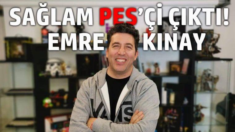 Belediye Başkan Adayı Emre Kınay ile PES Oynadık!