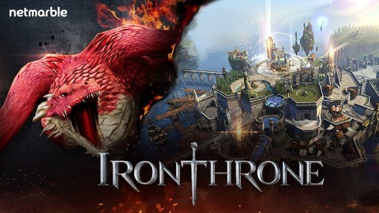MMO Strateji türündeki Iron Throne'un ön kayıtları başlıyor