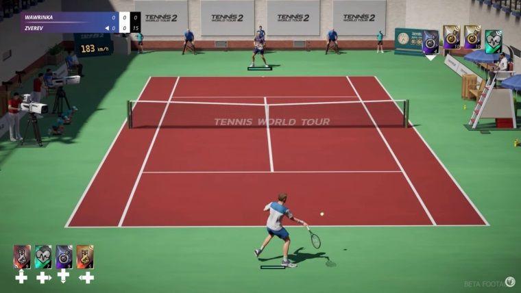Tennis World Tour 2 oynanış videosu yayınlandı