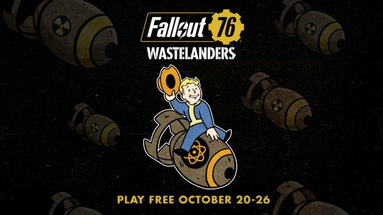 Fallout 76 Steam'de bir haftalığına ücretsiz!