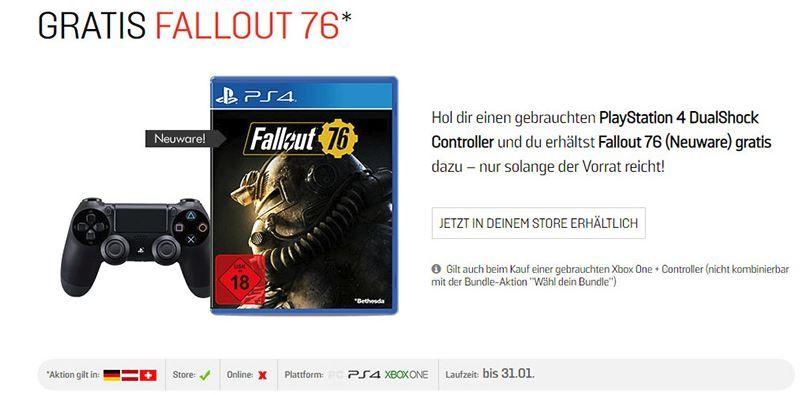 Fallout 76 resmen elde kaldı: Kontrolcü alana Fallout 76 bedava