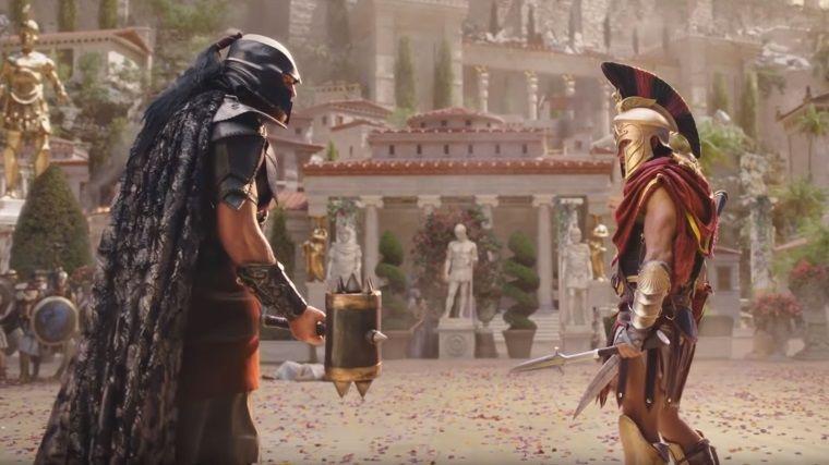 Assassin's Creed Odyssey'den film tadında televizyon reklamı
