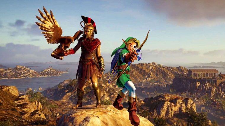 Assassin's Creed bu sefer Zelda'ya gönderme yaptı
