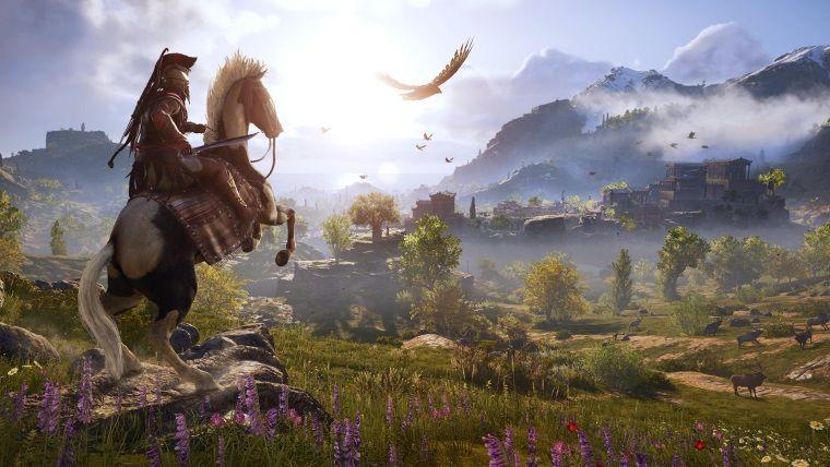 Assassin's Creed Odyssey sürpriz bir konsol güncellemesi alıyor