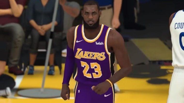 NBA 2K19'dan oynanış videosu: LA Lakers vs GS Warriors