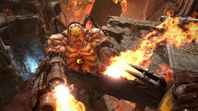 Doom Eternal'ın aksiyon dolu yeni oynanış videosu yayınlandı