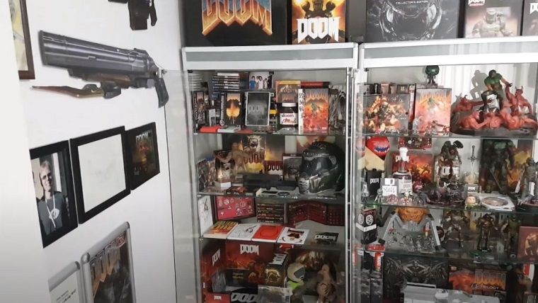 Dünyanın en büyük Doom kolleksiyonu