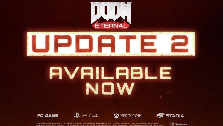 Doom Eternal ikinci önemli güncellemesi yayınlandı
