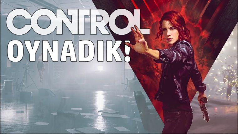 Control - E3 fuarında oynadık!