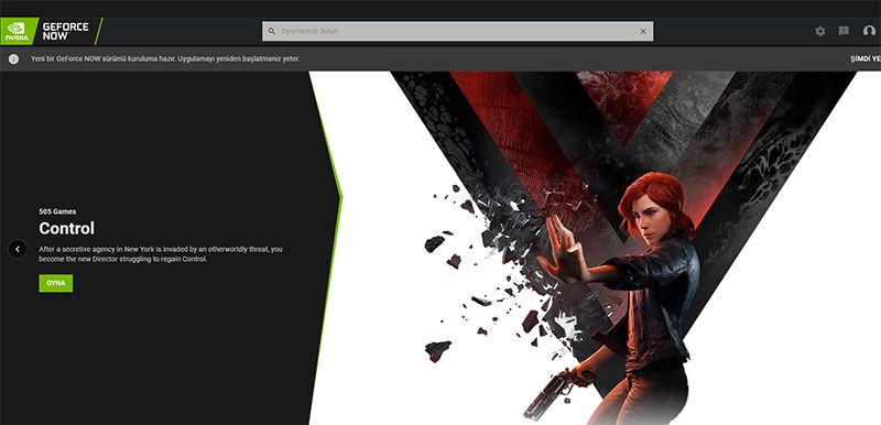 Control artık GeForce Now üzerinden oynanabiliyor