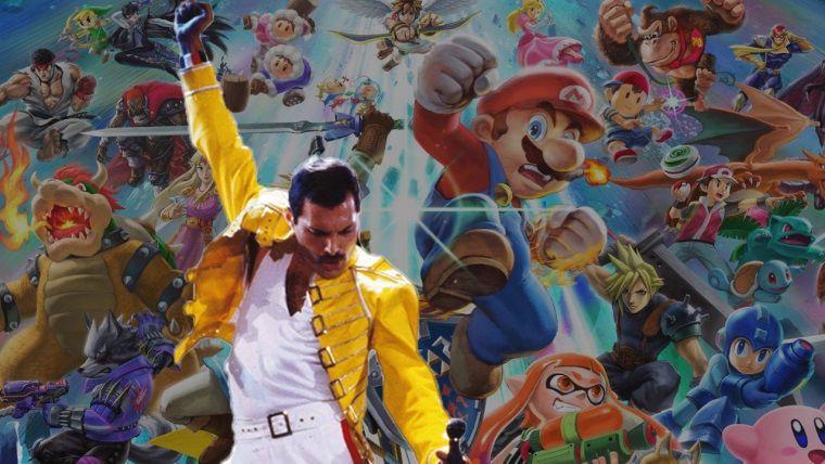 Queen ve Super Smash Bros bir araya geldi! Sonuç mükemmel