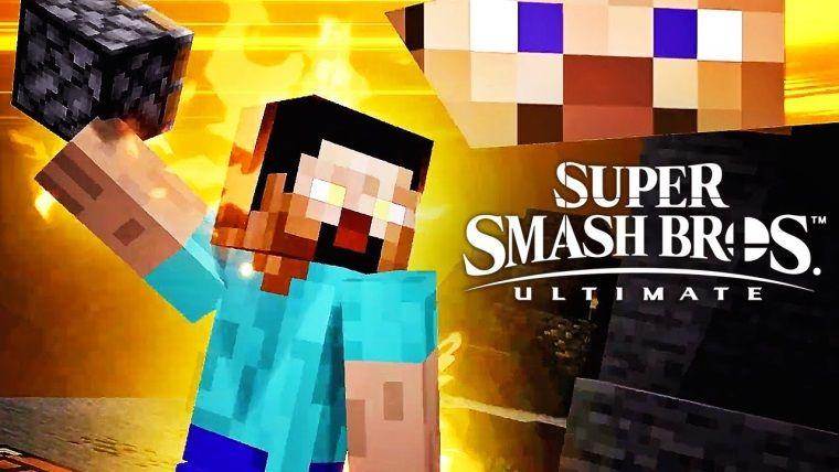 Minecraft karakterleri Super Smah Bros Ultimate'e geliyor