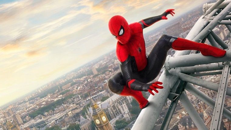Spiderman: Far From Home posterlerinde komik hata