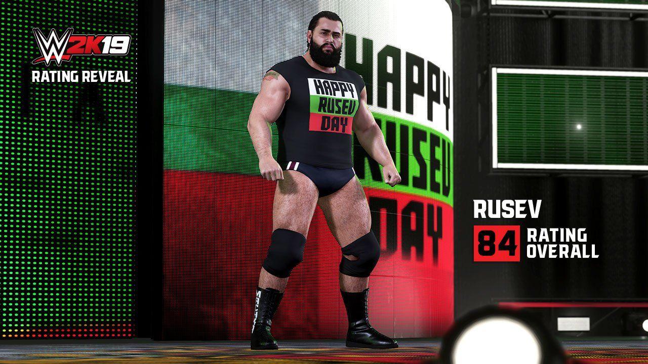WWE 2K19'da bulunan on altı güreşçinin puanları açıklandı!