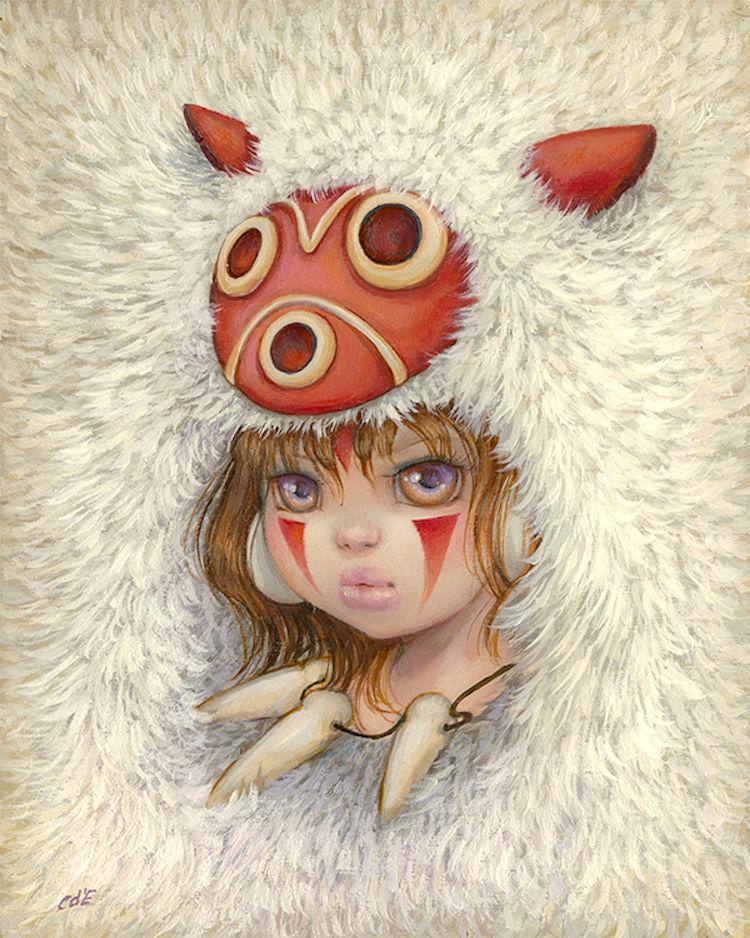 Miyazaki'nin eserleri resim sanatçılarına ilham kaynağı oldu