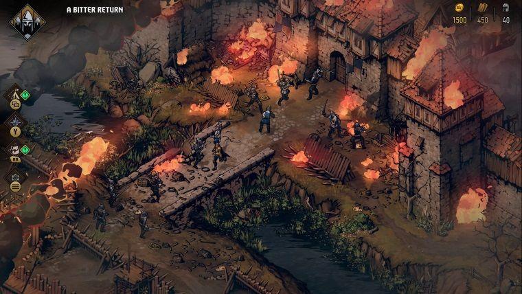 Thronebreaker: The Witcher Tales Steam kütüphanesine eklendi