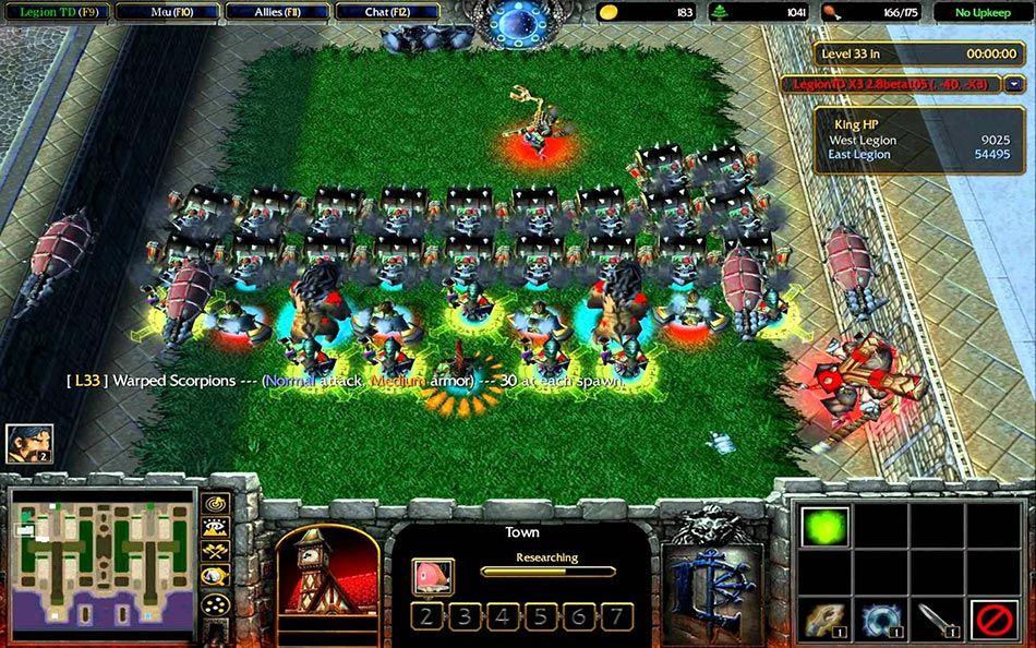 Warcraft 3 modu Legion