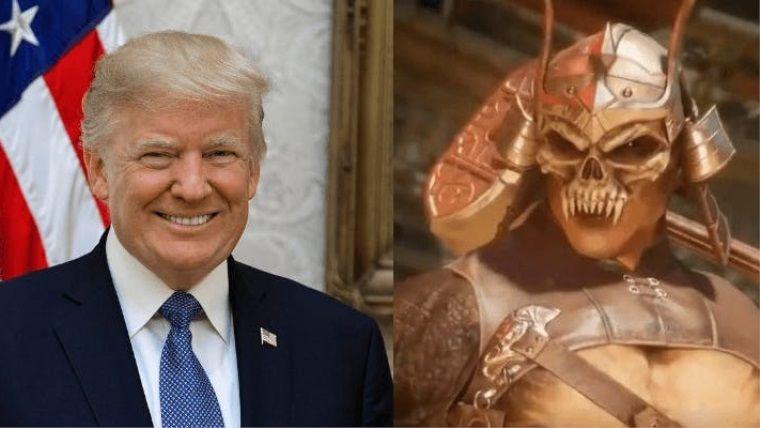 Mortal Kombat 11'den Amerikan Başkanı'na gönderme