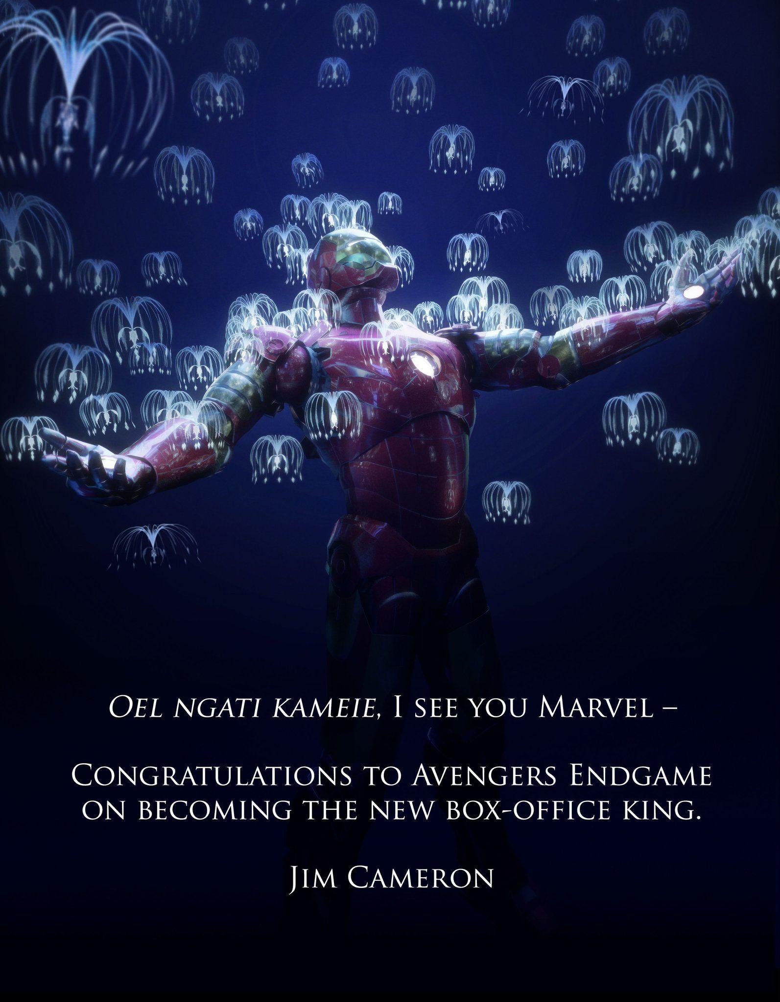 Avengers Endgame, Avatar filminin rekorunu kırmayı başardı