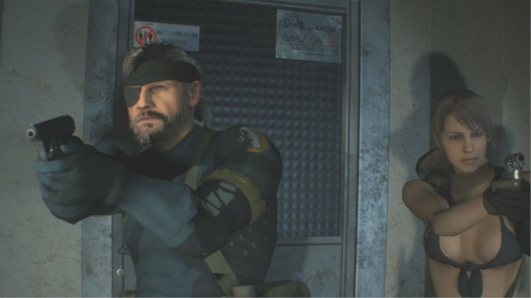 Resident Evil 2 Remake için Big Boss ve Quiet modu yapıldı