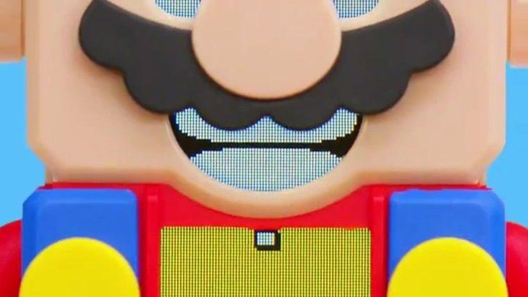 Lego markası ve Mario güçlerini birleştiriyor