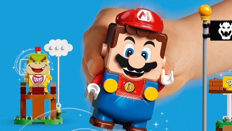 Lego ve Nintendo işbirliğinden Lego Mario çıktı