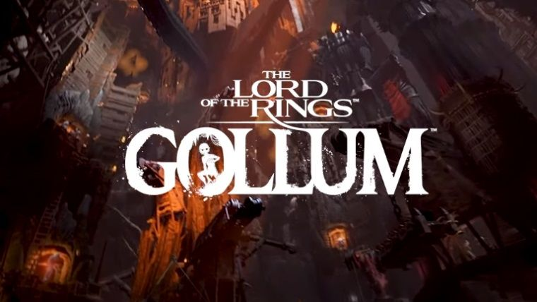 Lord of the Rings Gollum için yeni video