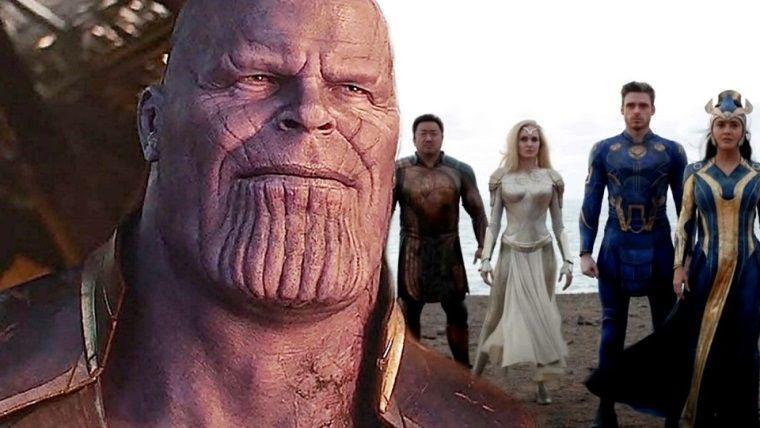 The Eternals üyeleri Thanos'a neden müdahale etmedi?