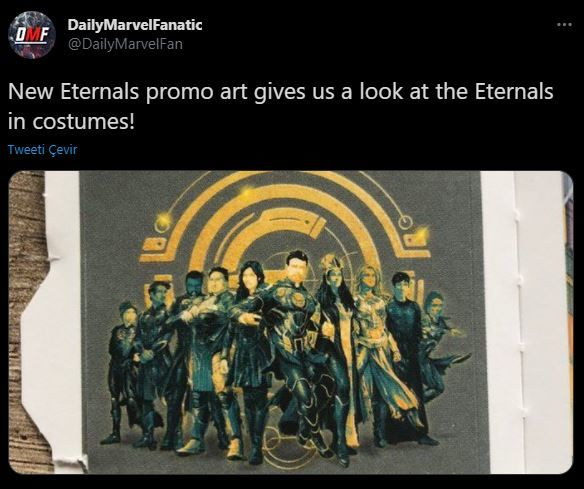 The Eternals: MCU Phase 4 movie details coming out