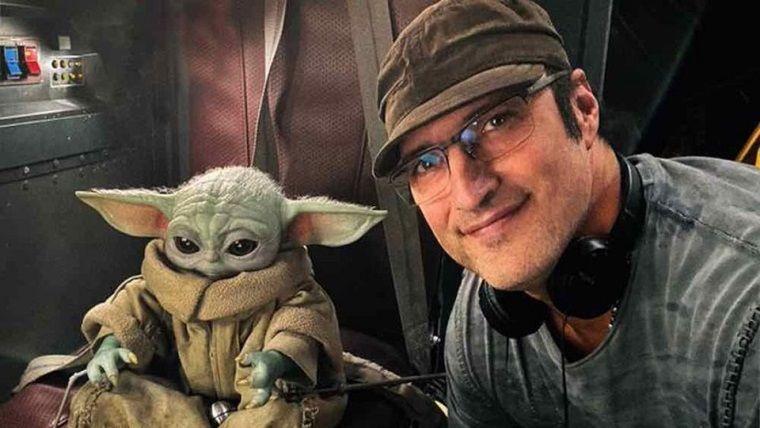 Robert Rodriguez, Baby Yoda ile olan kamera arkası videosunu paylaştı