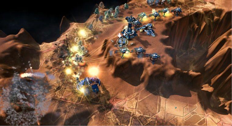 Bağımsız strateji oyunu Siege of Centauri erken erişime girdi