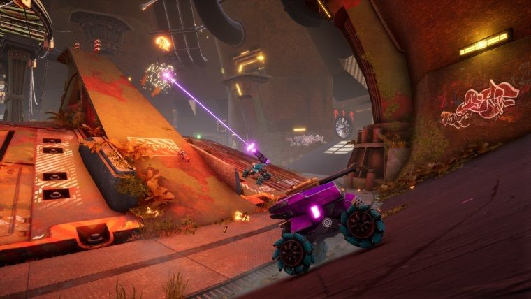 Araçların çarpıştığı savaş oyunu ShockRods betaya giriyor