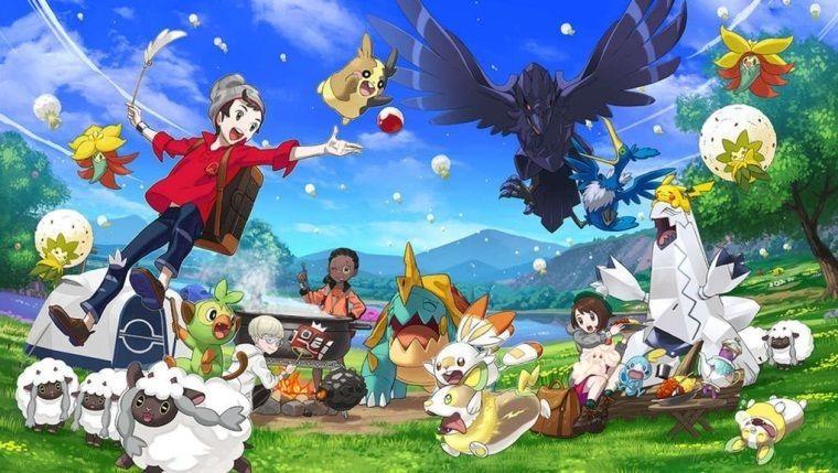 Pokemon Sword and Shield Japonya listelerinde hala lider