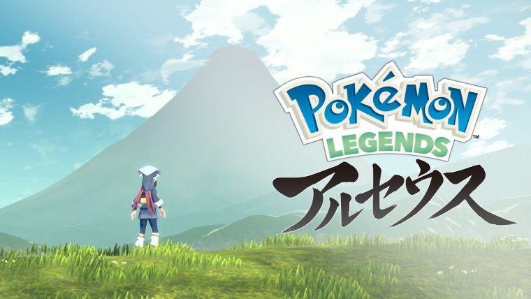 Açık dünya türündeki Pokemon Legends Arceus duyuruldu