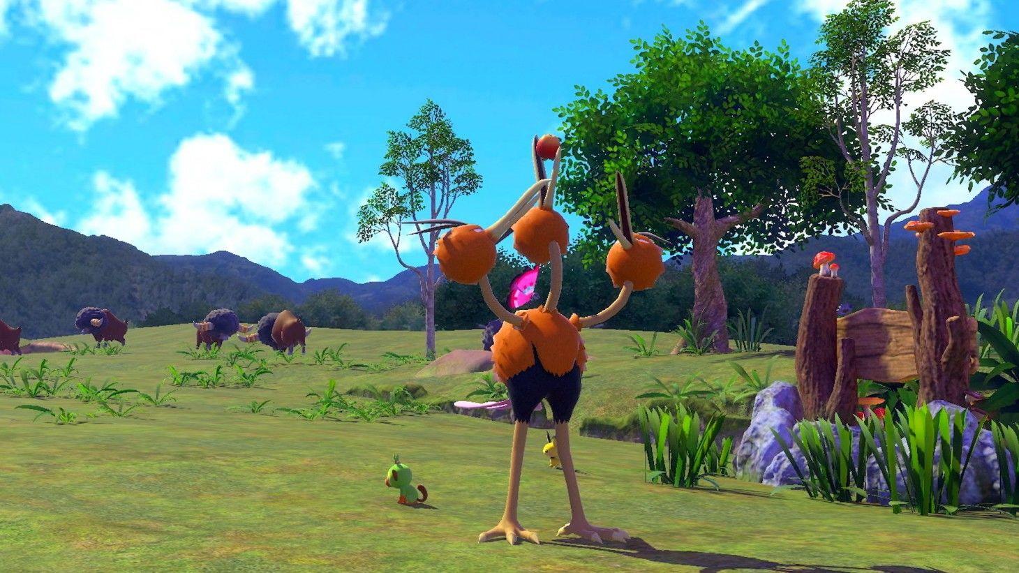Open-world Pokemon Legends Arceus announced