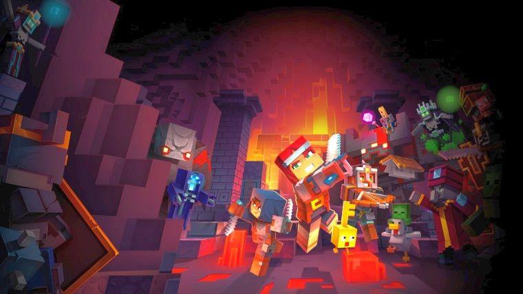 Minecraft Dungeons Steame eklendi