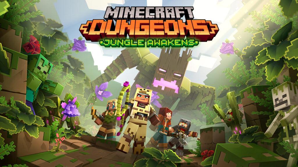 Minecraft Dungeons için ilk genişleme paketi, Temmuz ayında gelecek