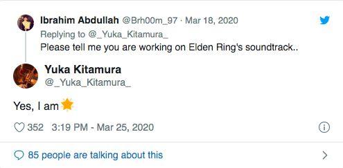 Elden Ring müzikleri, Dark Souls 3 bestecisine emanet